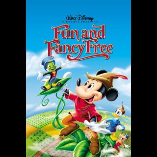 Fun & Fancy Free (VHS)