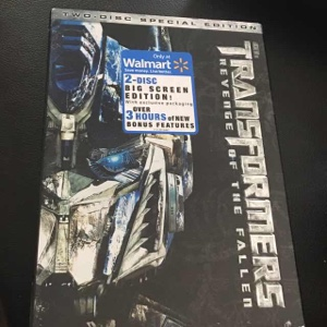 TRANSFORMERS REVENGE OF THE FALLEN TWO-DISC SPECIAL EDITION DVD SET