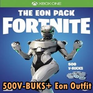 Fortnite The Eon Skin 500 V Bucks Xbox One
