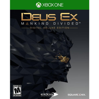 Deus Ex: Mankind Divided - Digital Deluxe Edition XBOX ONE Key UNITED STATES