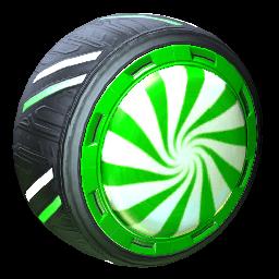 Peppermint   Forest Green