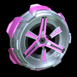 Metalwork   Pink
