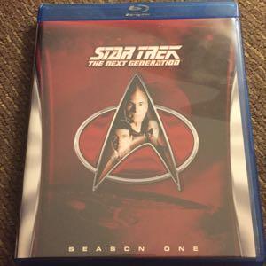 Star Trek Next Generation season 1 blu ray