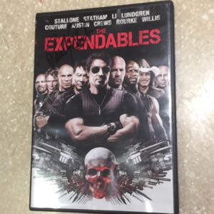 Signed Expendables DVD