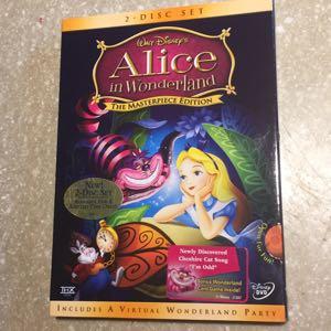 Disney Alice in Wonderland DVD new
