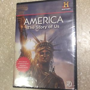 History Channel America the Story of Us DVD new
