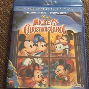 Disney Mickey's Christmas Carol DVD