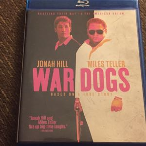 War Dogs blu ray