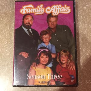 Family Affair season 3 DVD new
