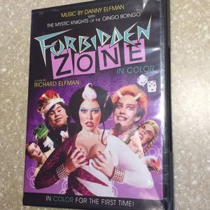 Forbidden Zone DVD