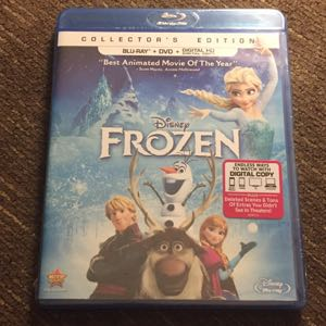 Disney Frozen blu ray new