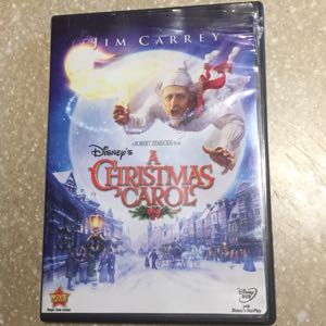 Disney A Christmas Carol DVD
