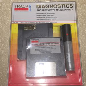 Trackmate 3.5 floppy diagnostic/cleaning tool