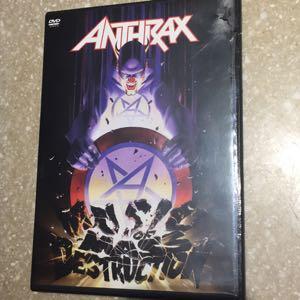 Anthrax: Music of Mass Destruction DVD