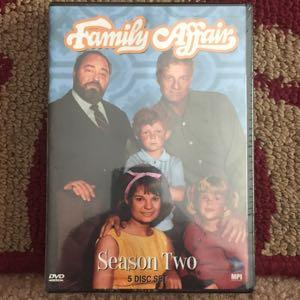 Family Affair season 2 DVD new
