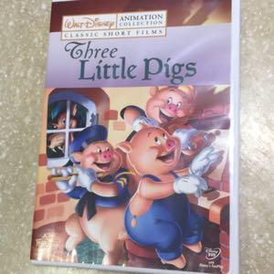 Disney Three Little Pigs DVD
