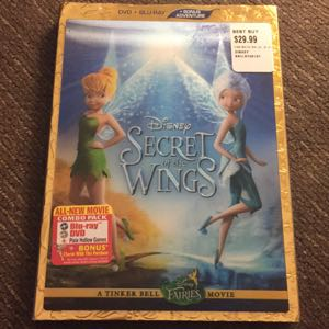 Disney Secret of the Wings blu ray