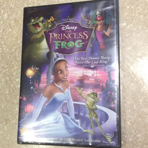 Disney Princess and the Frog DVD new