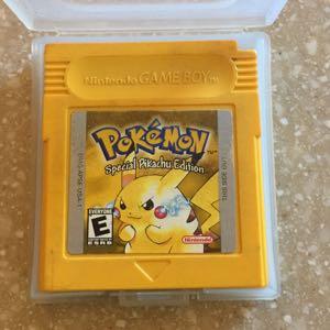 Pokémon Yellow (Special Pikachu Edition)