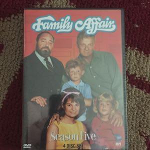 Family Affair season 5 DVD new