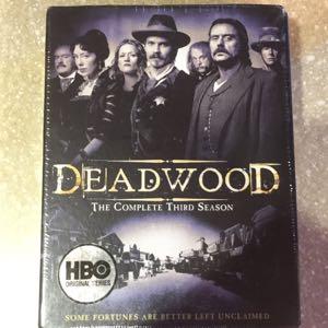 HBO Deadwood 3rd season DVD new
