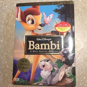 Disney Bambi 2 disc special edition DVD new