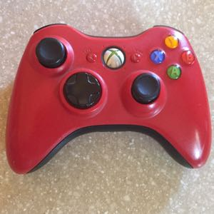 Official Red Xbox 360 Controller