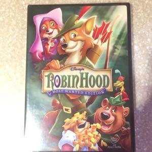 Disney Robin Hood DVD new
