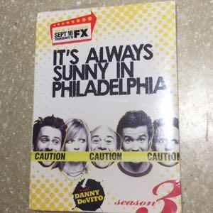 It's Always Sunny in Philadelphia Season 3 DVD new