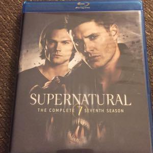 Supernatural season 7 blu ray