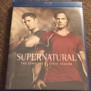 Supernatural season 6 blu ray