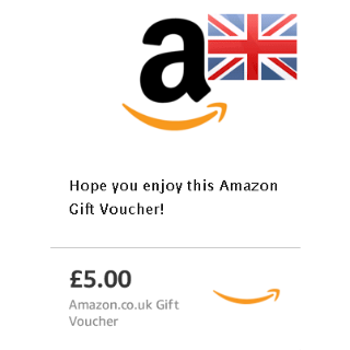 £5 Gift Card Amazon UK