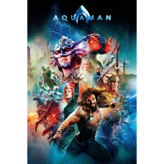 Aquaman UHD/4K Instant Delivery Movies Anywhere