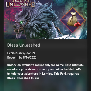 Code | Bless Unleashed