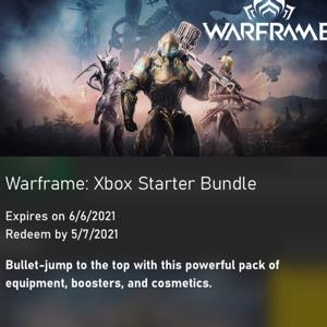 Code | Warframe Starter Pack