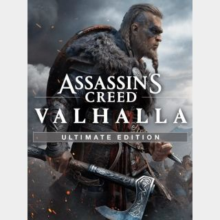 Assassin's Creed Valhalla: Ultimate Edition - US ONLY - INSTANLY DELIVERY