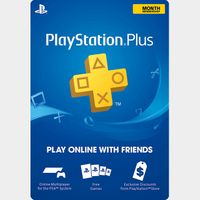 PlayStation Plus 12 months US ONLY