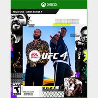EA Sports UFC 4 - XBOX ONE - INSTANLY DELIVERY - US ONLY