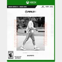 FIFA 21 Ultimate Edition Xbox One & Xbox Series X S ( Instant delivery )