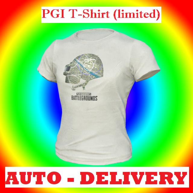 PUBG | PGI T-Shirt Limited | #6 - PlayerUnknown's Battlegrounds In