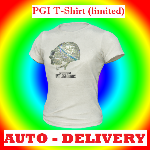 PUBG | PGI T-Shirt Limited | #2 - PlayerUnknown's