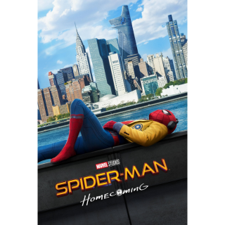 Spider-Man: Homecoming HDX VUDU or iTunes via MA