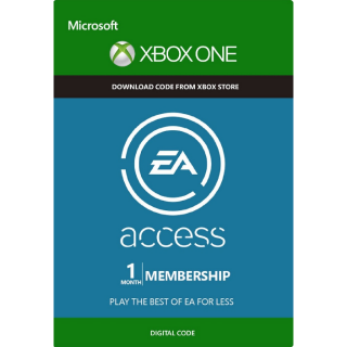 EA ACCESS 1 (XBOX ONE/GLOBAL)  ✅