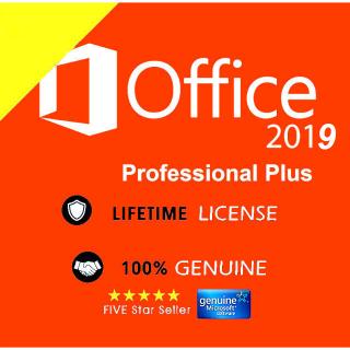 Microsoft Office Professional Plus 2019 License Key for  windows 10