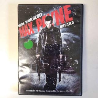 Max Payne DVD Starring Mark Wahlberg