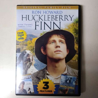 Huckleberry Finn DVD + 2 Other Feature Movies