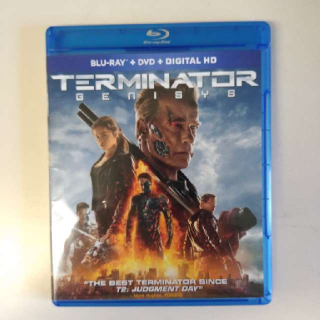 Terminator Genisys Blu-ray & DVD (No Digital Copy)