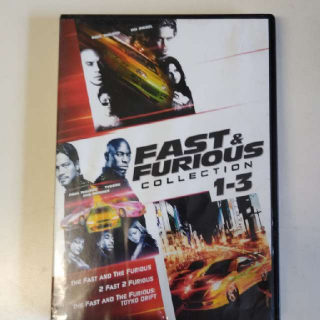 Fast & Furious 1-3 DVD Collection