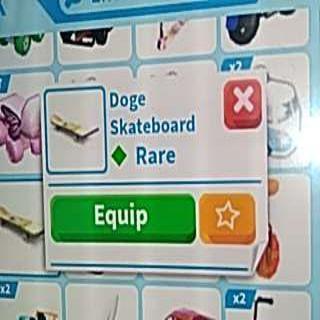 Other   Doge Skateboard