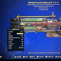 Weapon | B/25/15r Gatling Laser